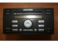 FORD 6000 CD Radio with CDDJ Button includes Code and Removal Keys