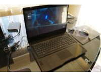 EVGA SC17 GTX1070 gaming laptop 32GB RAM, SSD + HDD