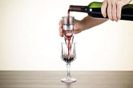 Plastic wine aerator
