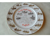 Ltd Ed Edwardian Fine Bone China North Staffordshire Coalfield Plate