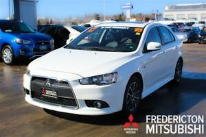 2015 Mitsubishi LANCER SPORTBACK GT! LEATHER HEATED SEATS! WARRA