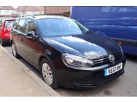 2012 12 Volkwagen Golf S Estate 1.6 tdi manual 179k with PCO Until 28 NOV 2017 BEST MAINTAINED CAR