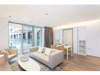 luxury studio, 1 Bath, private balcony, cinema, SWIMMING POOL, 24 hour concierge, transport links