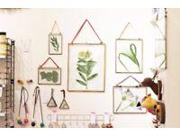 Kiko vintage brass hanging frames (portrait and landscape)