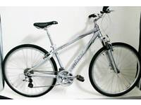 Immaculate Small Ladies Giant Cypress Hybrid City Road Bike Touring Front Suspension Forks