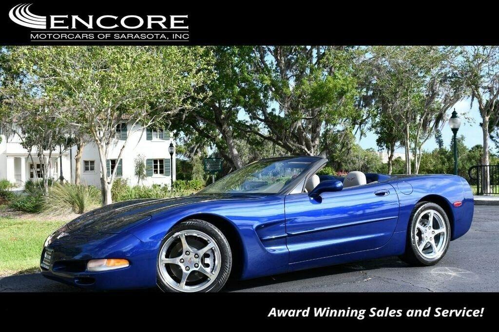 2004 Blue Chevrolet Corvette Convertible  | C5 Corvette Photo 1