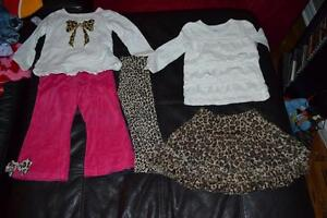 Size 3 fall girls clothes