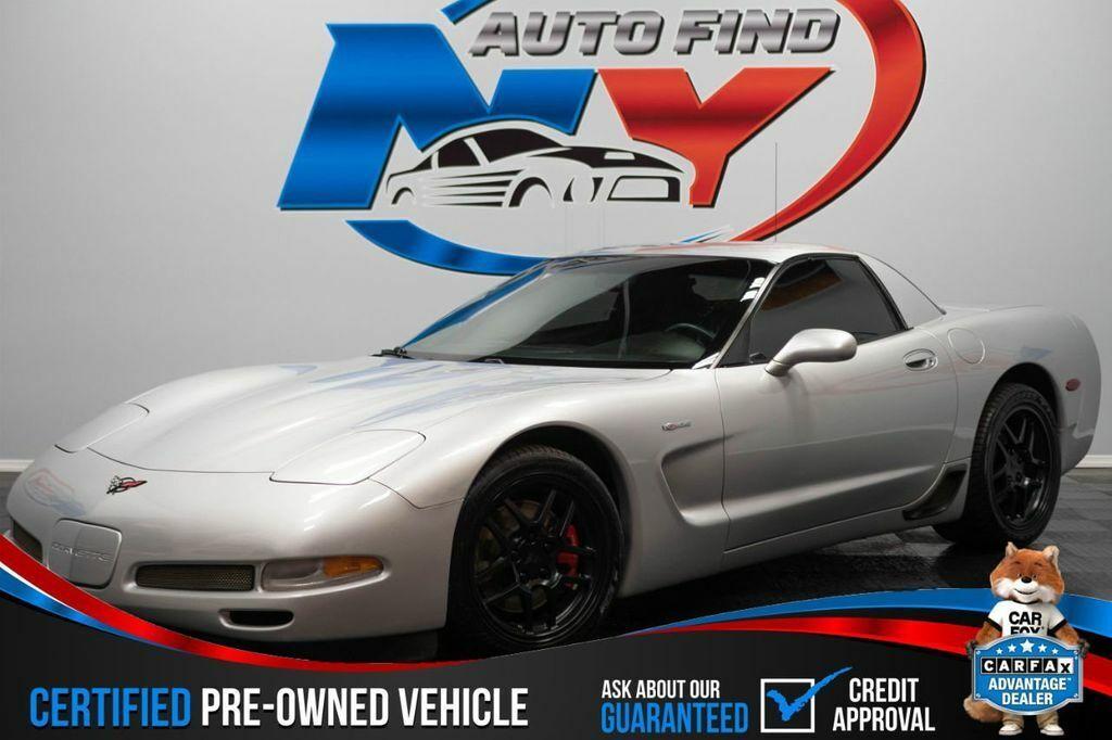 2001 Silver Chevrolet Corvette Z06    C5 Corvette Photo 1