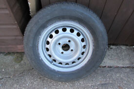 13 inch spare steel wheel