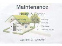 House and Garden Maintanence