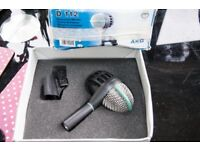 AKG D 112 KICK DRUM MIC AND STAND