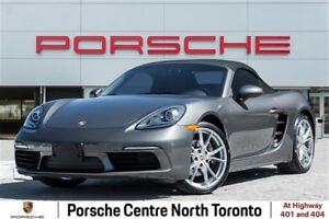 2018 Porsche 718 Boxster Sport Chrono Package|Sport Tailpipes |A