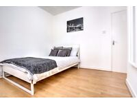 Large double room available now in newly refurbished flat!