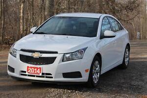 2014 Chevrolet Cruze 1LT | 33K | Bluetooth | CERTIFIED + E-Te...