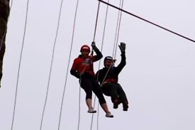 165ft Abseil From The Forth Rail Bridge - October