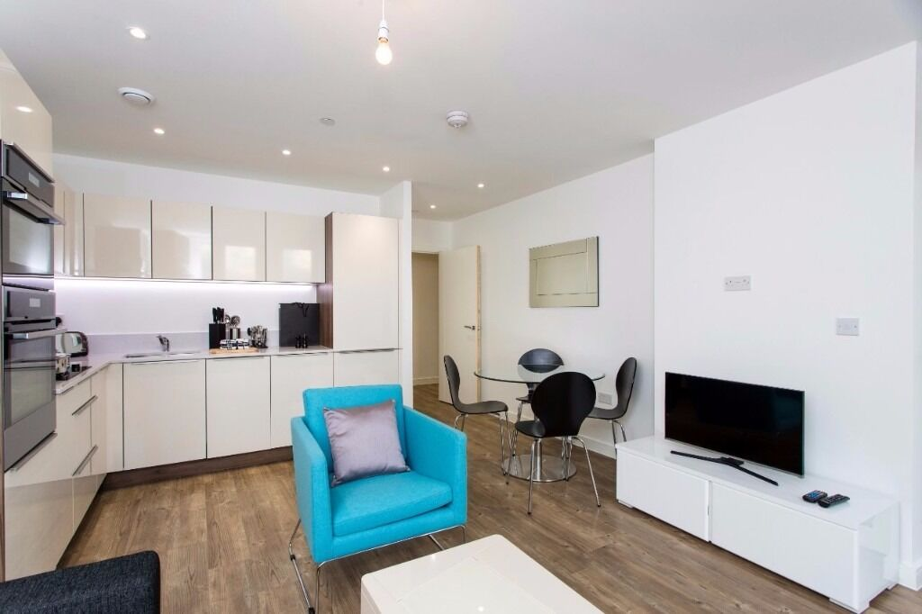 ONE bedroom flat, Loop Court, Greenwich, 7th floor, North Greenwich tube, furnished, balcony, porter