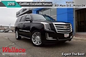 2016 Cadillac Escalade PLATINUM/DVD-BLURAY/MOONROOF/22 RIMS/TRLR