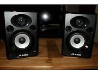 Music studio monitors