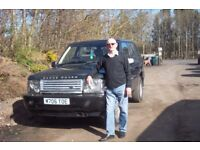 Two Range Rovers For Spares or Repair one complete only needs slave cylinder kit