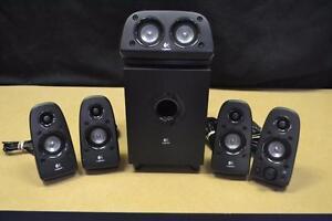 speakers 5.1 logitech z506 pour ordinateur