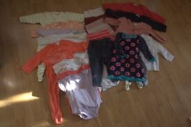 Bundle of Girl Clothes - age 6 to 9 months
