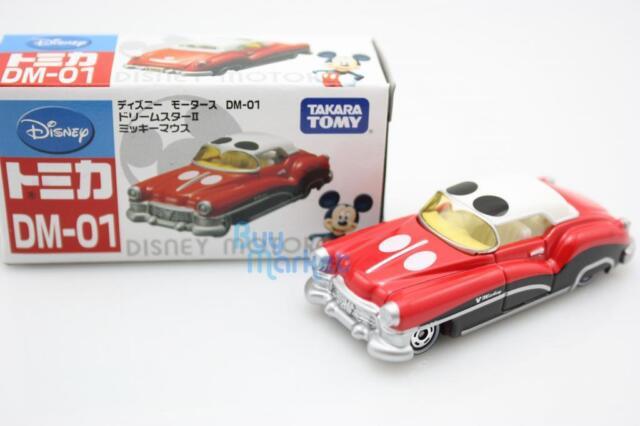 Tomica Takara Tomy Disney Motors DM-01 Dreamstar Mickey Mouse Diecast Toy Car