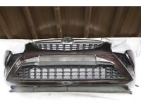 VAUXHALL ZAFIRA C COMPLETE FRONT BUMPER IN BROWN PDC 2012-2017