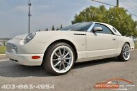 2002 Ford Thunderbird Convertible - 2 Tops - Only 14,000KMS!