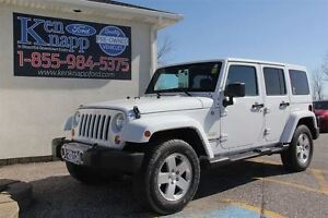 2012 Jeep WRANGLER UNLIMITED Sahara | 4X4