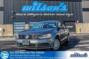 2015 Volkswagen Jetta TRENDLINE+ HEATED SEATS! TOUCH SCREEN! BLU