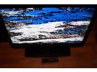 "40"" TOSHIBA LCD TV USED,V.CLEAN,FULLY WORKING,FREEVIEW,DTV,HDMI,GENUINE REMOTE"