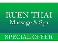 ●Special 100 Minute Offer at Ruen Thai Massage & Spa, Newcastle●