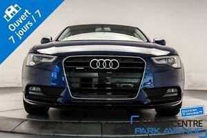 2014 Audi A5 2.0 Komfort AWD CUIR TOIT BAS KM