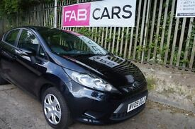 Ford Fiesta 1.4ltr petrol Style + Automatic 5 Door Black