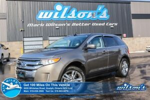 2014 Ford Edge LIMITED! NAVI! REAR CAMERA!  LEATHER! BLINDSPOT M