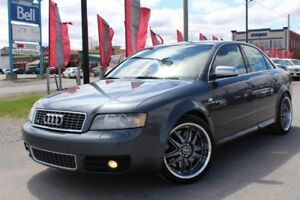 2005 Audi S4 4.2 V8, AWD, Cuire, MAG