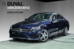 2015 Mercedes-Benz C-Class C300 4MATIC + Phares LED / Sport Pack