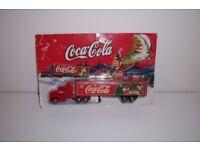 diecast xmas coca cola truck