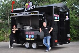 Street Food Catering Trailer 12ft x 7ft, Excellent Condition