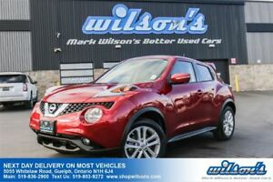 2016 Nissan Juke SL AWD SUV! LEATHER! SUNROOF! HEATED SEATS! PUS