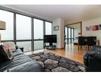 Large 2 bed apartment available in popular Canary Wharf development West India Quay, E14,