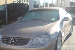 2003 Mercedes-Benz SL-Class ONE OWNER--LOW KM'S--THIS IS A MUST