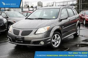 2007 Pontiac Vibe Base AM/FM Radio and Air Conditioning