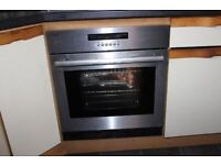 Built- in electric oven