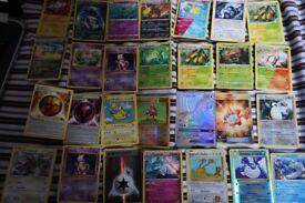 pokemon card bundle rainbow lapras rotom dex pikachu holo