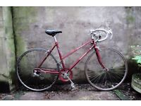 RALEIGH PRELUDE, 20 inch, vintage ladies womens, racer racing road bike, 5 speed