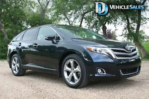 2014 Toyota Venza LIMITED, V6 LEATHER, MOONROOF, BACK UP CAMERA