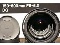 SIGMA 150-600 mm Contemporary Lens Canon mount