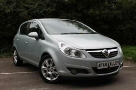 Vauxhall Corsa Design AUTO **2 LADY OWNERS+FULL S/HISTORY** (green) 2009