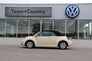 2010 Volkswagen New Beetle Convertible Comfortline 2.5L 6sp at T
